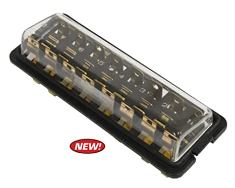 amazon com fuse box f 8 fuses type 1 1961 1966 vw dune buggy rh amazon com