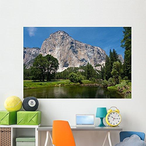 El Capitan Wall Mural by Wallmonkeys Peel and Stick Graphic (72 in W x 48 in H) (Climbing El Capitan Yosemite)