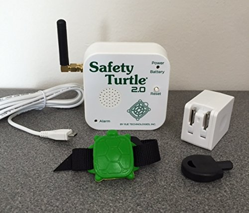 Safety Turtle New 2.0 Child Immersion Pool/Water Alarm Kit by Safety Turtle