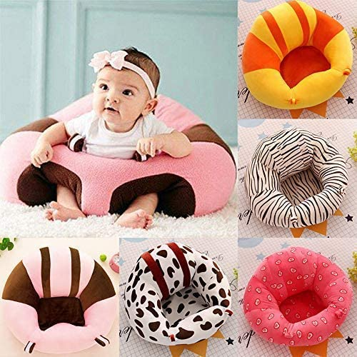 HAPPYX Baby Support Seat Infants Learning to Sit Chair Sofa Cushion Plush Soft Comfortable for 4-11 Months