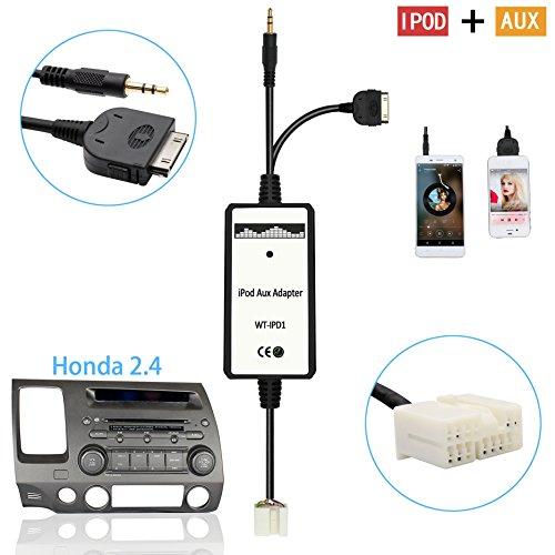 Auxillary Adapter, Moonet Car CD Changer 3.5mm AUX Input