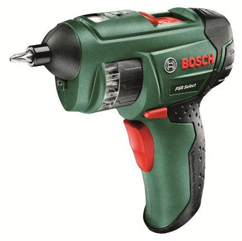 Bosch PSR Select Cordless Screwdriver with Integrated 3.6 V Lithium-Ion...