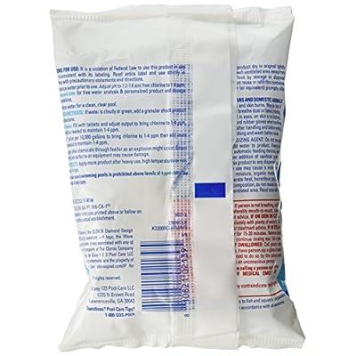 CLOROX Pool&Spa 22000CLX Chlorinating Tablets, 1 per Package, 3