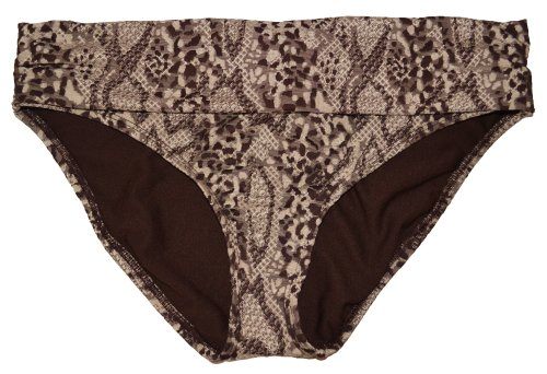 Kenneth Cole New York Women's Swimwear Bikini Hipster Bottom Brown 10