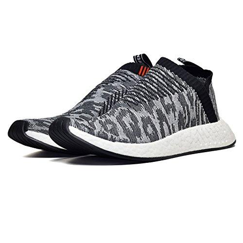 more photos 2b16d 8a15e 50%OFF Adidas Men NMD CS2 Primeknit (black  core black  future harvest