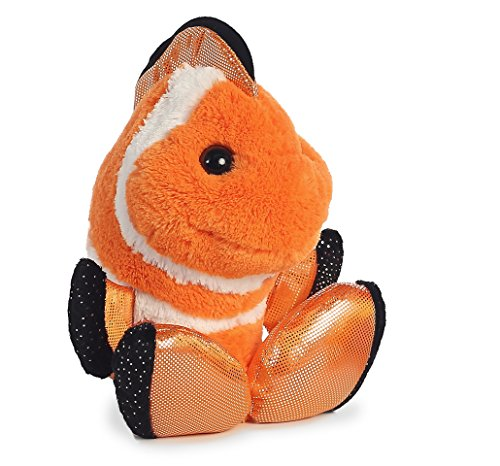 Toes Plush, Fins Clown Fish (Tow Fin)