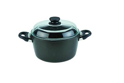 Amazon.com: SKK - Olla con tapa (11.0 in): Home & Kitchen