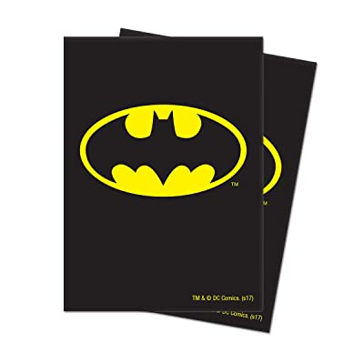 Ultra Pro Official Justice League Batman Deck Protector Sleeves (65ct): Toys & Games