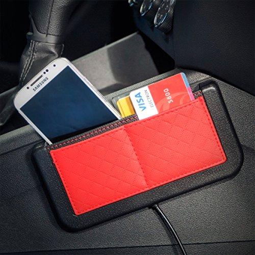 New Car Pocket Organizer – Double-Sided 3M Tape – Console Organizer Car Storage – Dashboard Phone Holder – Automotive Interior Accessories