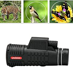Super High Power 10X52 Portable HD OPTICS BAK4 Night Vision Monocular TelescopeFeatures:Multi Coated optics guarantee superior light transmission and brightnessThis product have focus capabilitySingle hand operationPowerful, ultra-compact an...