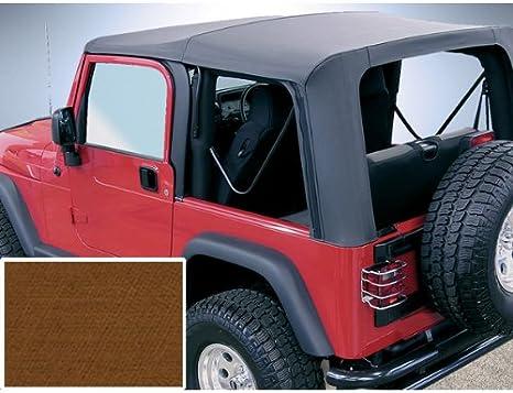 Rugged Ridge 13725.33 Dark Tan Soft Top with No Doors