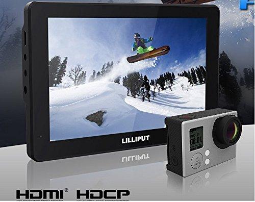 "LILLIPUT 7"" Mopro7 Black 1280x800 Ips Screen Hdmi for Dslr C"