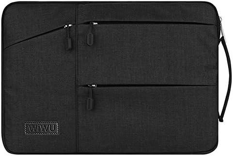 WIWU Funda Portatil 13 pulgadas Funda Protectora Bolsa para Notebook Tablet iPad Tab Función Protectora Impermeable Resistente a Golpes con Accesorio de Bolsillo -Negro: Amazon.es: Electrónica