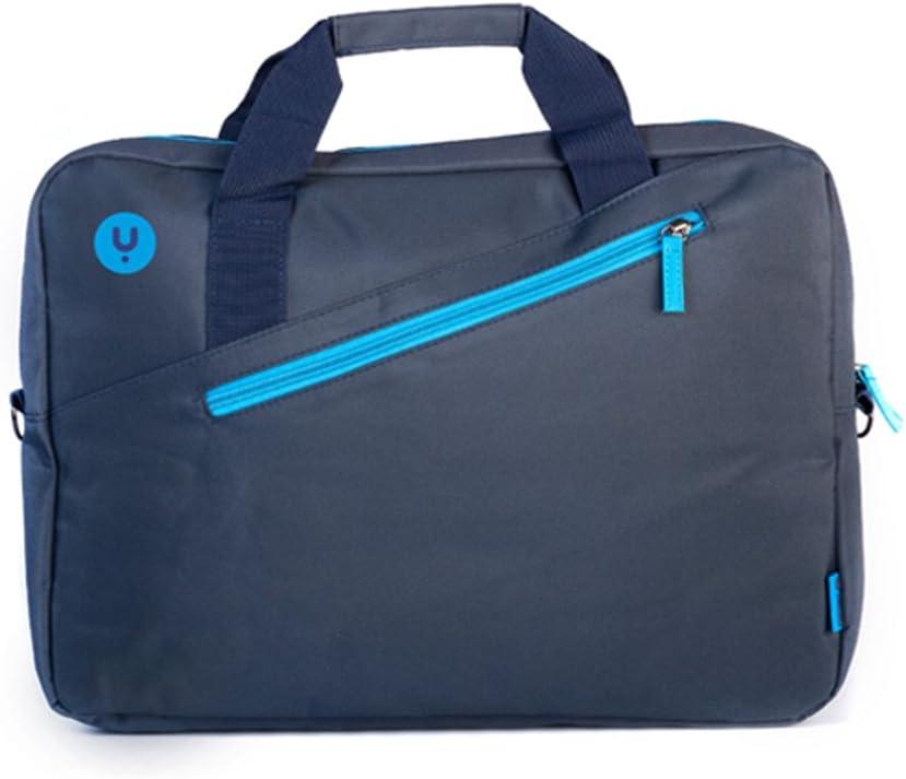"""MONRAY NGS Ginger maletín para Ordenador portátil, Jengibre Azul, 39,6 cm (15.6"""") con Bolsillo Exterior"""