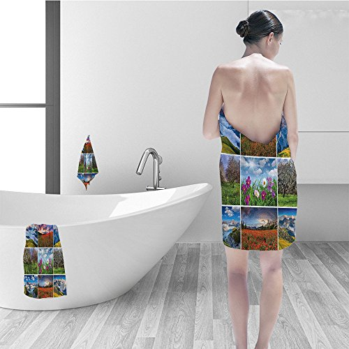Nalahomeqq Bath towel set Home Decor Aro herapy Purple Lilac Orchid Wellness Spa Fragrant Organic Herbal Oils Soaps Candles Relax Bathroom Accessories - Spa Aros