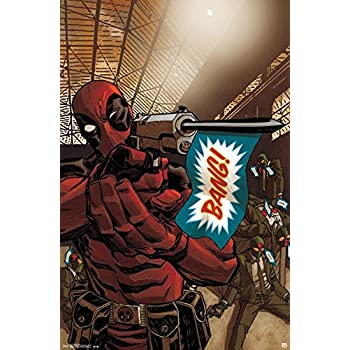 Trends International Deadpool Bang Wall Poster 22.375