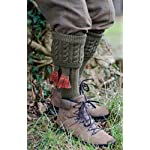 Walker & Hawkes - Chaussettes Dalkeith pour homme - chasse/campagne - garters assortis - tailles M-L 7