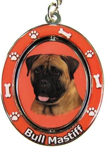 E&S Pets Bullmastiff Clave Cadena Spinning Mascota Clave Cadenas ...