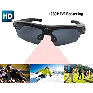 JOYCAM Video Recording Sunglasses with Full HD 1080P Camera Polarized UV400 Glasses Wearable Camcorder for Outdoor Sports