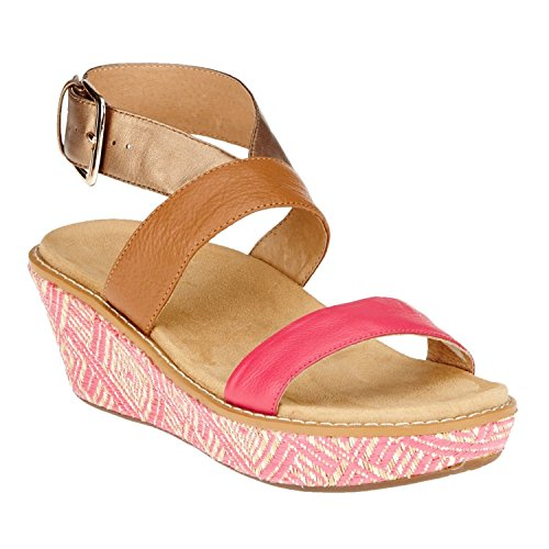 VIONIC with Orthaheel Technology Women's Cancun Fuchsia Sandal 10 M