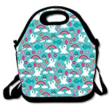 Best GENERIC Friend Lunch Boxes - Lovely Insulated Lunch Bag Tote Reusable Waterproof School Review