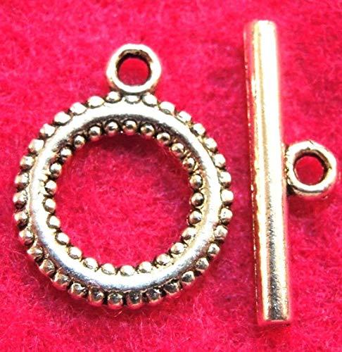 - 10Sets Tibetan Silver Round