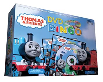 Amazoncom Thomas and Friends DVD Bingo Game Toys  Games