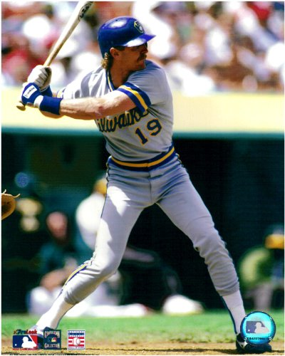Robin Yount Milwaukee Brewers Unsigned Licensed Baseball Photo 2