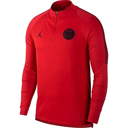 ff09fefbe Amazon.com: Nike Jordan Sweatshirt Training PSG 2018/19 (X-Large ...