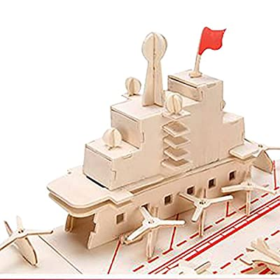 3d Wooden Puzzle Chiness Liaoning Aircraft Carrier 31.1