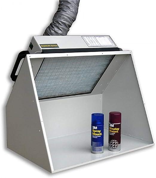 Cabina de succión - aspirador para pintar BENCH VENT BV200H-D: Amazon.es: Hogar