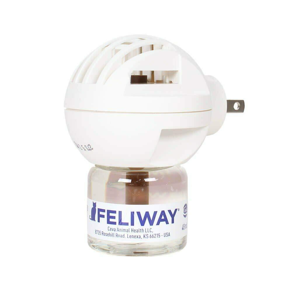 Feliway Classic Plug-in Diffuser Starter Kit w Refill 48 mL
