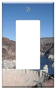 Switch Plate Single Rocker/GFCI - Boulder Dam Las Vegas Nevada Hoover Dam Dam
