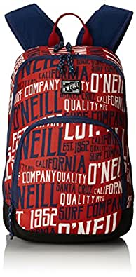ONeill - Bm Wedge S Backpack, Mochilas Hombre, Rot (Red Aop