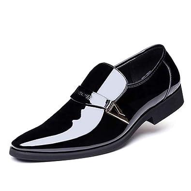 7dc3eb1c9c0a Uirend Fashion Office Faux Leather Shoes Mens - Men Pumps Slip On Ankle  Smart Driving Shoes