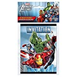 Marvel Avengers Party Invitations, 8ct