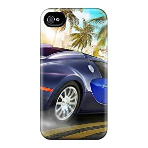 High-end Case Cover Protector For Apple Iphone 4/4S Case Cover (cars)