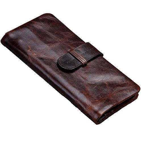 mens-vintage-genuine-leather-long-bifold-wallet-money-card-purse