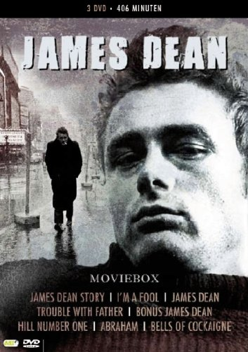 James Dean Collection - 3-DVD Box Set ( James Dean Story / I'm a Fool / James Dean / Trouble With Father / Hill Number One / Abraham / Bells of Cock [ NON-USA FORMAT, PAL, Reg.2 Import - Netherlands ]