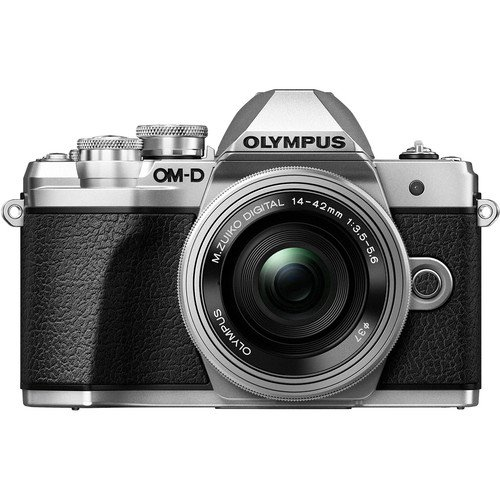 OM-D E-M10 Mark III with 14-42mm EZ [Silver]