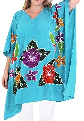 La Leela lâche couverture bikini chaise longue taille plus beachwear sundress femmes ups rose