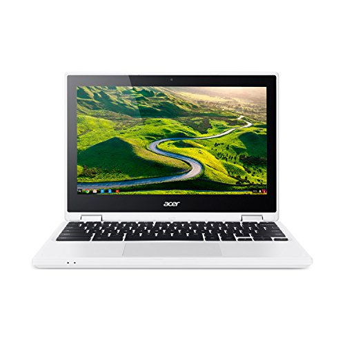 "Acer Aspire CB5-132T-C7R5 11.6"" HD Touch Notebook (Celeron N3160, 4GB RAM, 32GB Storage) Chrome (French Bilingual Keyboard) - NX.G54AA.016"
