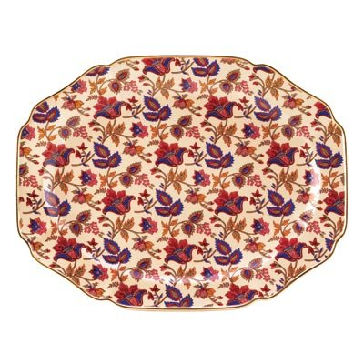Koehler 15000 17 inch Jaipur Cream Serving Platter