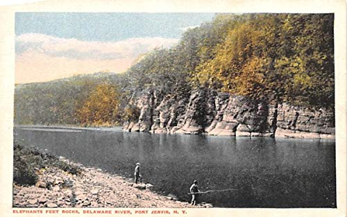 Elephants Feet Rocks Port Jervis, New York Postcard