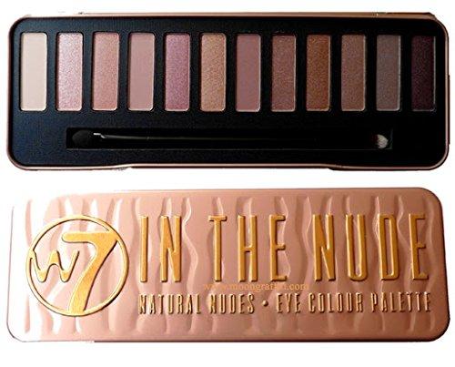W7 Природные Обнаженные Обнаженные Цвет глаз Palette Новый (W7 - «В Ню»)