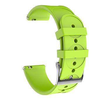 Baiomawzh Correas para Reloj Compatible con SUUNTO 3 Fitness ...
