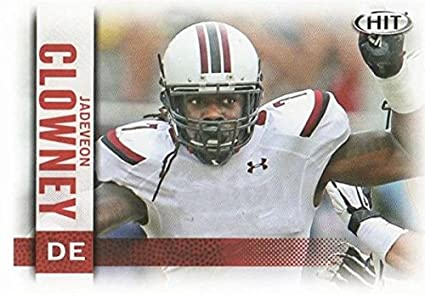 04df7a217 Image Unavailable. Image not available for. Color: Jadeveon Clowney football  card (South Carolina ...