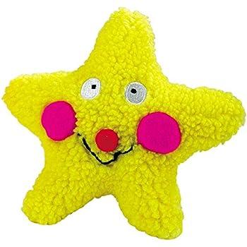 Pet Supplies : Pet Squeak Toys : Zanies Smiling Star Dog