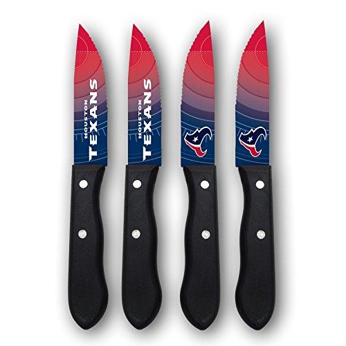 Sports Vault NFL Houston Texans Steak Knive Set