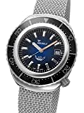 Squale 1000 meter Professional Swiss Automatic Dive watch with Sapphire Crystal 2002BLBK-S, Watch Central